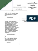 Cruz v. City of Laramie, 239 F.3d 1183, 10th Cir. (2001)