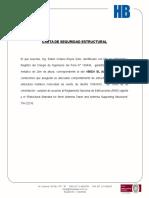Carta de Seguridad de Estructural El Alianza