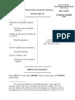 Delta Western Group v. Ruth U. Fertel, Inc., 10th Cir. (2001)