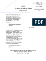 Rosette Incorporated v. United States, 277 F.3d 1222, 10th Cir. (2002)
