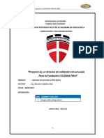 Imforme de Cableado Estructurado 2015 - UAGRM SERGIO ORTEGA