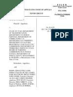 Ostler v. State of Utah, 10th Cir. (2004)
