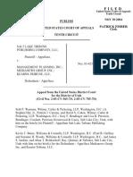 Salt Lake Tribune v. Management Planning, 390 F.3d 684, 10th Cir. (2004)