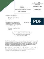 Gillogly v. GE Capital Assurance, 430 F.3d 1284, 10th Cir. (2005)