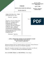 Terra Venture, Inc. v. JDN Real Estate, 443 F.3d 1240, 10th Cir. (2006)