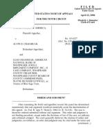 United States v. Craighead, 10th Cir. (2006)