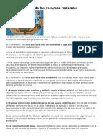 La conservación de los recursos naturales.docx