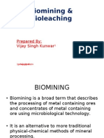 Biomining  and Bioleaching