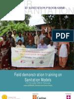 Masonry Training on Sanitation Models