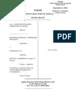 Woolsey v. Citibank, N.A., 10th Cir. (2012)