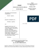 SEC v. Thompson, 10th Cir. (2013)