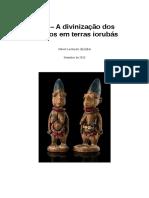 Ibeji - A Divinizacao dos Gemeos em Terras Iorubas.pdf