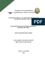 Trastornos Biológicos Producidos Por La Diabetes Tipo MODY, Monografía