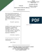 Hillsdale Environmental Loss v. United States Army Corps, 10th Cir. (2012)