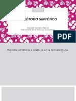 El Método Sintético (lectura)