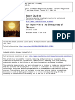 An Inquiry Into the Discourses of Solness (on Ibsen)