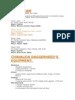 About Chavaleia Daggerheed