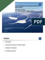 Airframe Technologies for Efficiency IWACC May 2012 NASA
