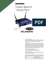 Linksys WAP11 v26 Use Guide