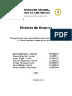 Tecnicas de Biopsias