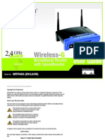 Linksys WRT54GS User Manual
