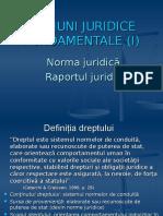 02. Noțiuni Juridice Fundamentale I