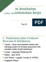 Program Kerja K3 2016