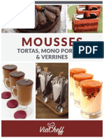 ViaCheff Mousses Tortas Mono Porcoes Verrines