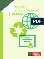 Cartilha Cadastro Técnico Federal