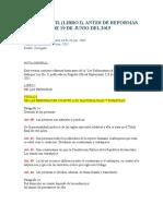 Historic-codigo Civil Libro i Antes de Reformas de 19 de Junio Del 2015
