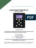 Magnum Keypad Operation Manual