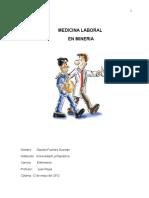 Medicina Laboral en Mineria (Informe) - Copia