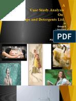1finalgroup 4 Gems Soap & Detergent Case Study Presentation 11.05.2016
