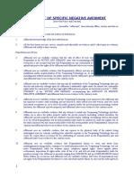 Affidavit of Negative Averment