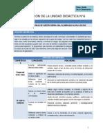 COM - Planificación Unidad 6 - 5to Grado