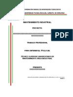 Plantilla Para Desarrollo de Proyecto - Jmorales