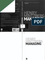 Henry Mintzberg Managing