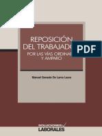 De Lama Laura, Manuel. Reposición del trabajador por las vías ordinaria y amparo.pdf