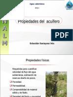 UNALM as Propiedades Del Acuifero