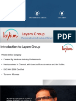 Layam Group - Business Presentation