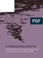 A Foreseeable Disaster HOTL Agrofuels July2013