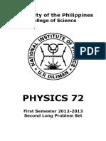 Physics 72 PS2