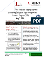 Seminar on FPGA in Nepal at May 7, 2016