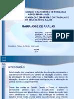 Política de Educação Permanente - Uma Analise de Implementação No DSIII