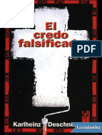 El Credo Falsificado (Deschner)