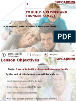 De Cuong Basic 18.11 .2015 6 Ways to Build a Closer and Stronger Family