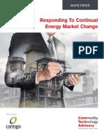 Responding to Continual Energy Market Change