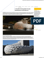 Durable & Recyclable Facade
