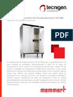 UFE800 Memmert Estufa Universal Excellent Ext Forzada 749L