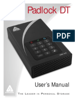 Aegis Padlock DT Manual